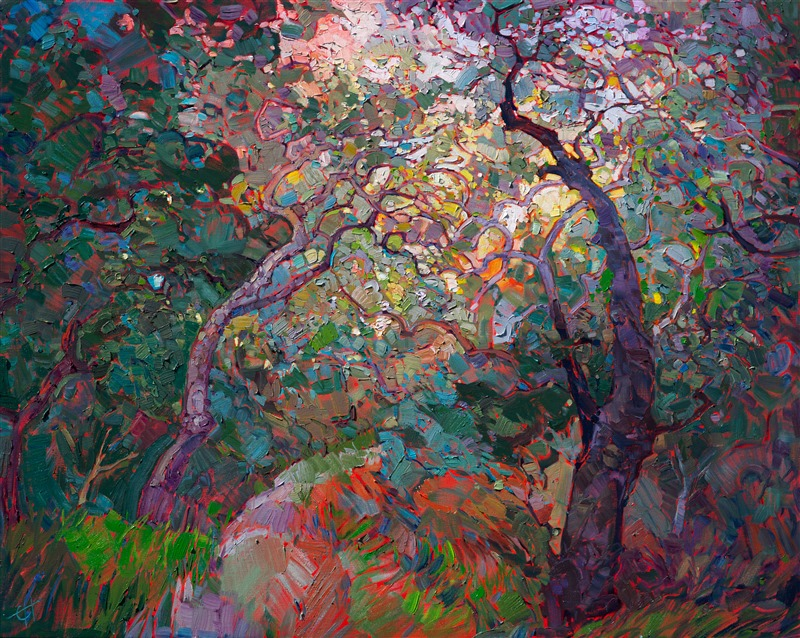 Oak Tapestries Contemporary Impressionism Art Gallery In
