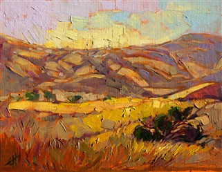 Modern impressionism oil painting by Erin Hanson