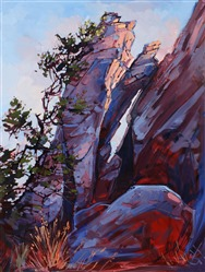Boulder Dance, original oil painting by Erin Hanson