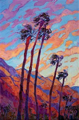 Contemporary impressionism painting by San Diego artist Erin Hanson