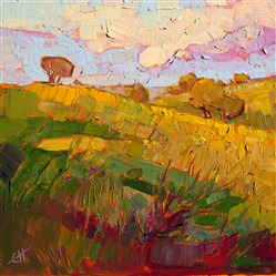 Paso Robles landscape oil painting by Erin Hanson