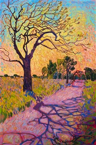 Collect contemporary impressionism oil paintings by a modern master