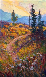 Path in Bloom, painting from the St George Museum National Park exhibition