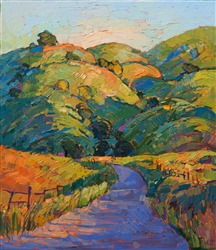 Paso Robles impressionism oil painting by American impressionist Erin Hanson