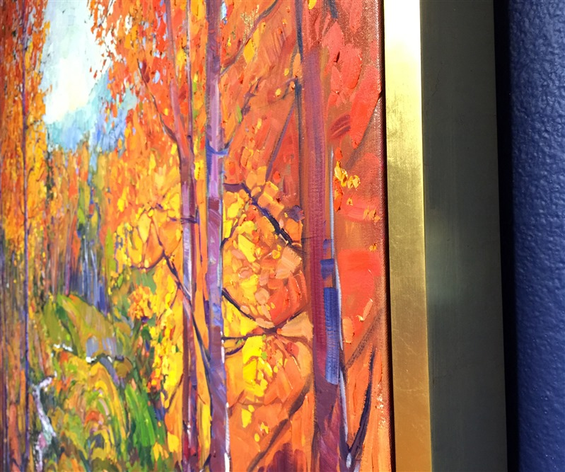 Framed oil painting, available from The Erin Hanson Gallery in Glendale CA