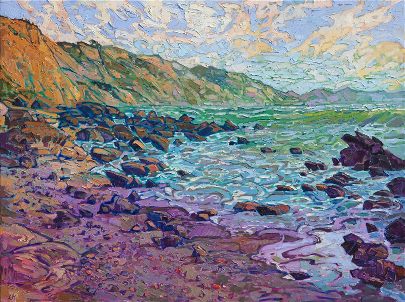 San Diego local landscape oil painting by California painter Erin Hanson