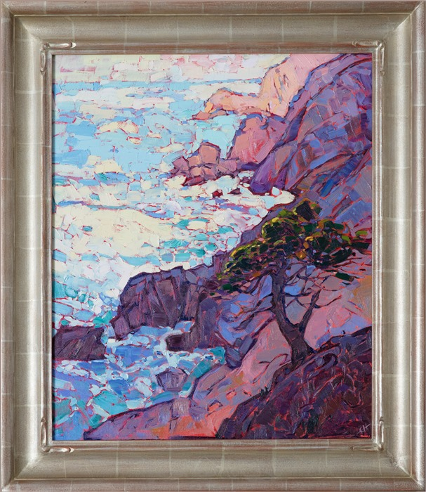 Framed image of Monterey Point, by Erin Hanson