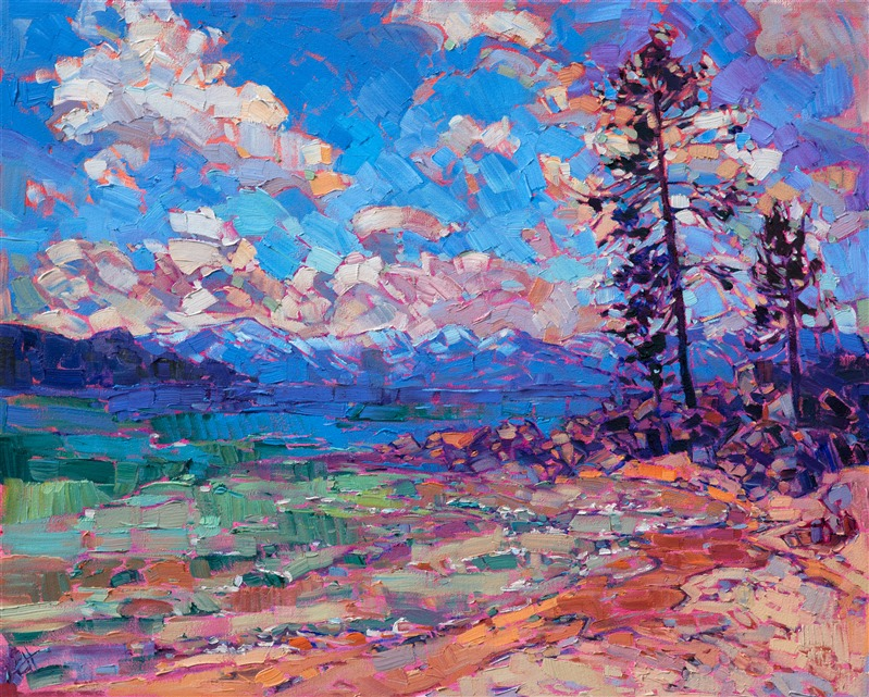 62a5693729b1 Tahoe Color - Purchase Contemporary Impressionism Prints by Erin Hanson