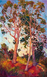 Modern impressionism oil painting by modern landscape painter Erin Hanson