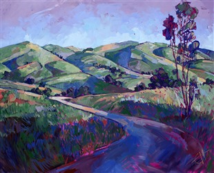 Paso Peace, original oil painting by Erin Hanson