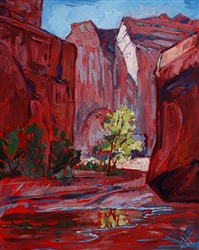 Canyon de Chelly original oil painting by Erin Hanson
