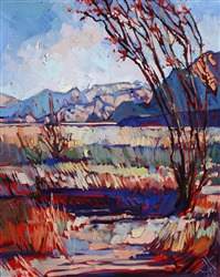 Borrego Springs oil painting by Erin Hanson