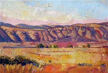 California impressionism painting by modern master Erin Hanson