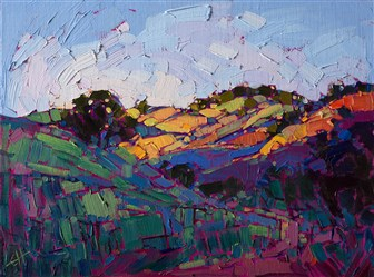 Purchase contemporary impressionist oil painting in a loose style, by artist Erin Hanson.