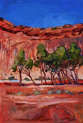 Canyon de Chelly oil painting by Erin Hanson