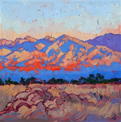 Borrego Springs desert landscape by contemporary artist Erin Hanson