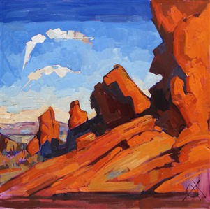 Seven Sisters at Valley of Fire State Park, by Erin Hanson