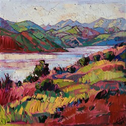 Central wine country artwork by California impressionist Erin Hanson