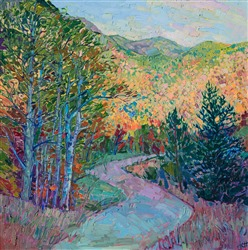 White Mountains New Hampshire collect landscape oil painting by impressionist artist Erin Hanson