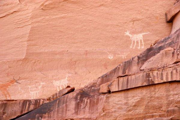Antelope House Ruin Canyon Wall Art in Canyon de Chelly