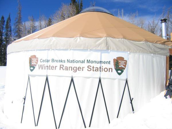 Winter Ranger Station at Cedar Breaks National Monument