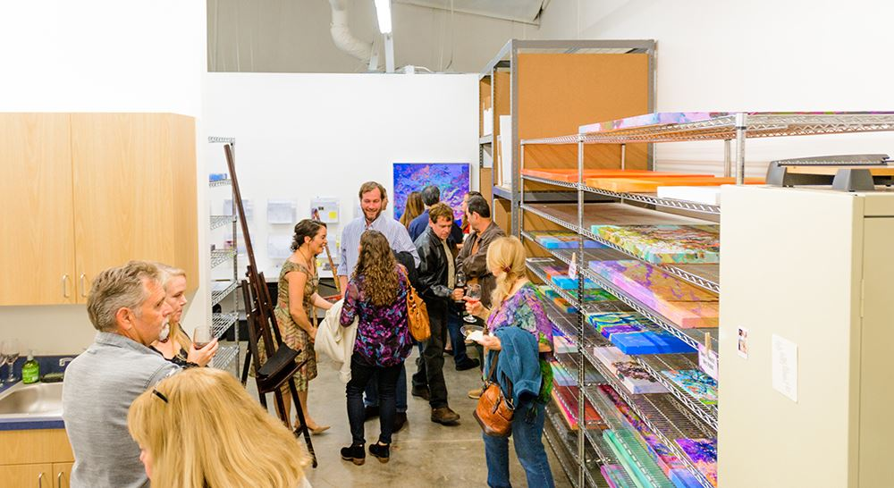 Erin Hanson Gallery grand opening in San Diego