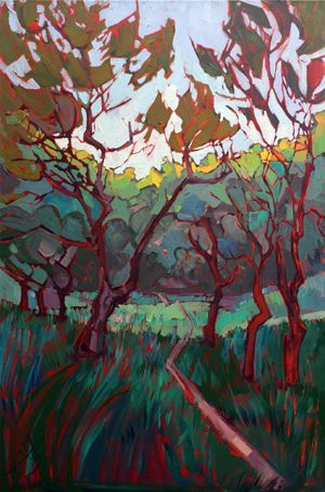What is the Best Lighting for My Painting? - Erin Hanson's Blog
